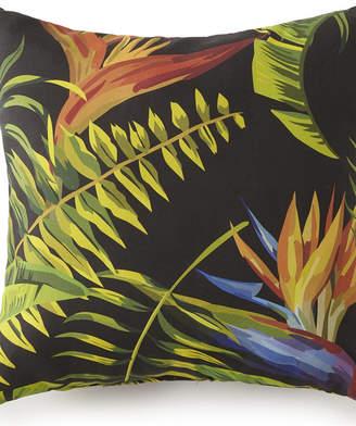 "Colcha Linens Flower Of Paradise Square Cushion 18""x18"" - Main Print Bedding"