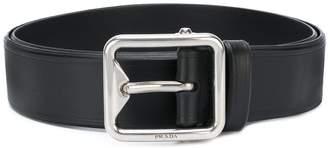 Prada square buckle belt