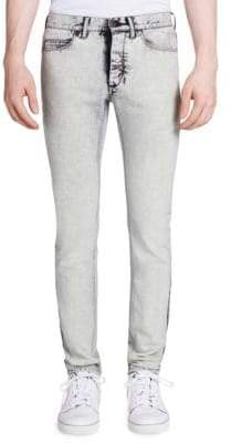 Lanvin Slim-Fit Overdyed Jeans