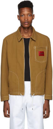 HUGO Tan Canvas Jacket