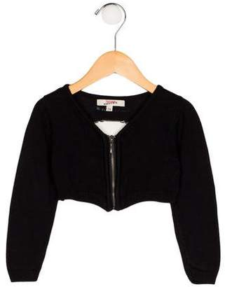 Junior Gaultier Girls' Knit Intarsia Jacket