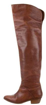 Tommy Hilfiger Leather Over-The-Knee Boots