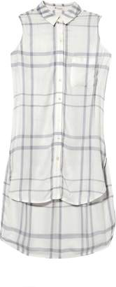 Vince Camuto Plaid Sleeveless Tunic