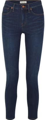 Madewell High-rise Stretch-denim Skinny Jeans - Dark denim