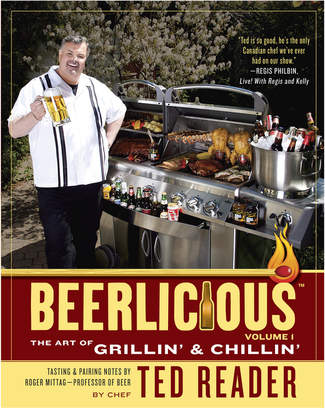 Penguin Random House Beerlicious: The Art Of Grillin' & Chillin' By Ted Reader