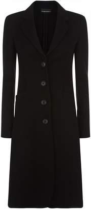 Emporio Armani Herringbone Coat