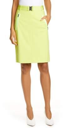 479b9bc92 HUGO Ralinas Belted Pencil Skirt