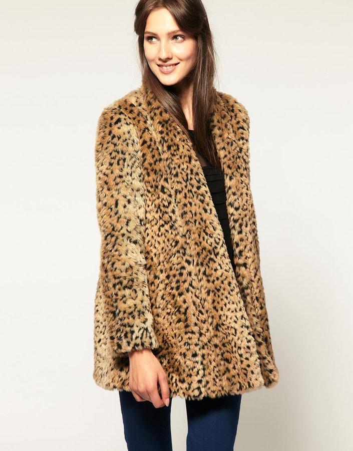 A Wear Leopard Swing Coat