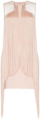 Stella McCartney fringe trim bodycon mini dress