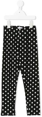 MonnaLisa polka dot leggings