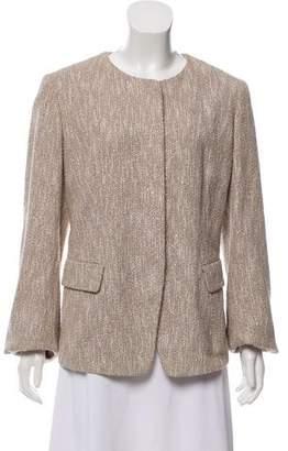 Lafayette 148 Bouclé Long Sleeve Jacket