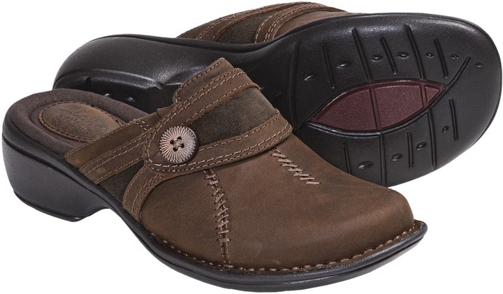 ClarksClarks Mill River Leather Clogs (For Women)
