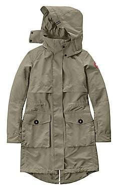 Canada Goose Women's Cavalry Hooded Trench Coat