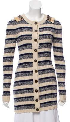Matthew Williamson Embellished Cashmere Cardigan