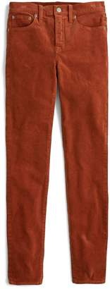J.Crew High Rise Toothpick Corduroy Jeans