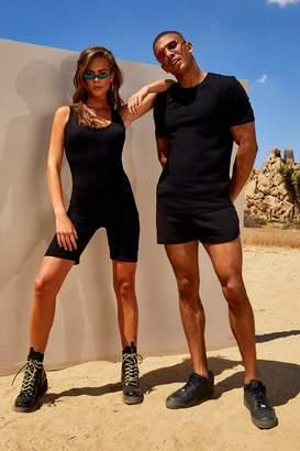 boohoo His Muscle Fit T-Shirt & Runner Short Set