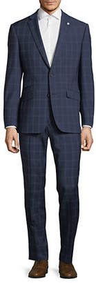 Ted Baker NO ORDINARY JOE Joey Checkered Wool Suit