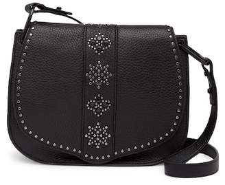Rebecca Minkoff Stargazing Leather Saddle Crossbody Bag