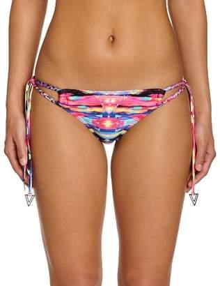 Seafolly Women's Tribe Brazilian Tie Side Bikini Bottoms