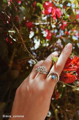 Urban Outfitters Half-Moon Statement Ring