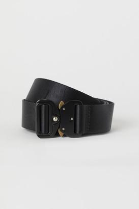 H&M Fabric Belt - Black