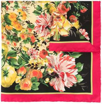 Dolce & Gabbana (ドルチェ & ガッバーナ) - Dolce & Gabbana フローラル スカーフ