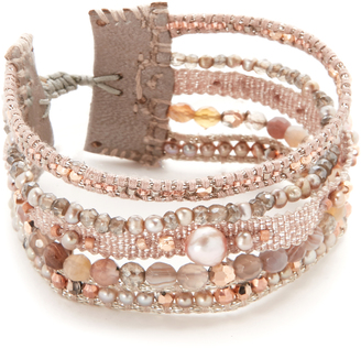 Chan Luu Adjustable Multi Strand Bracelet $170 thestylecure.com