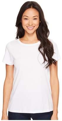 Lilla P Pima Jersey Short Sleeve Jewel Neck Top Women's Clothing
