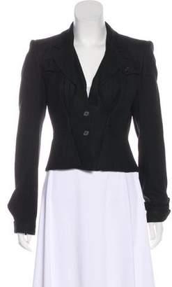 Saint Laurent Structured Knit Jacket
