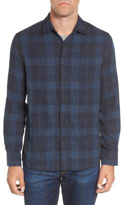 Grayers Helsby Double Cloth Plaid Sport Shirt