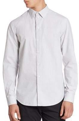 Armani Collezioni Microneat Sport Shirt