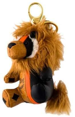 MCM Visetos Lion Bag Charm