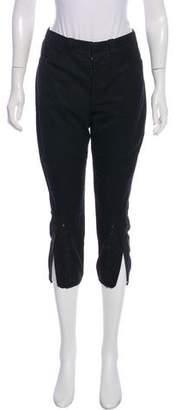 Balenciaga Mid-Rise Cropped Pants