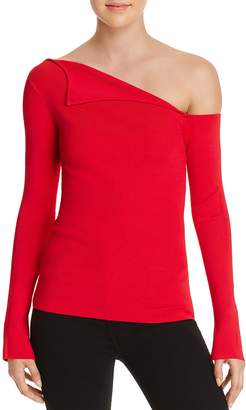 Bailey 44 Origami One-Shoulder Sweater