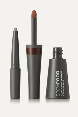 LashFood Browfood Aqua Brow Powder Pencil Duo - Brunette