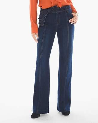 Platinum Tie-Waist Trouser Jeans
