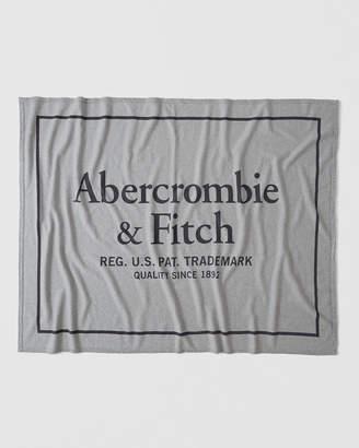 Abercrombie & Fitch Varsity Logo Blanket