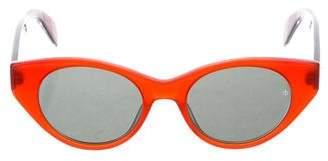 Rag & Bone Tinted Round Sunglasses