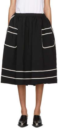 Comme des Garcons Black Trompe LOeil Skirt