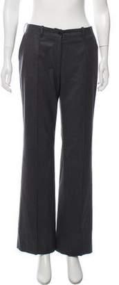 Celine Wool Low-Rise High-Rise Pants