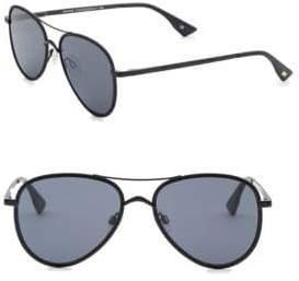 e398fb4e775 ... Le Specs Luxe Luxe Women s 55MM Empire Aviator Sunglasses - Matte Black
