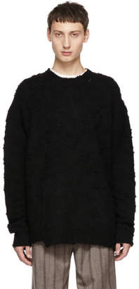 Wooyoungmi Black Wool Sweater