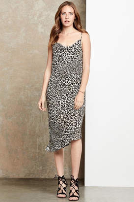 Fifteen-Twenty Fifteen Twenty Leopard Cowl Dress
