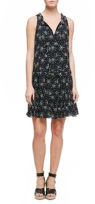 Women's Sanctuary Romy Print Flounce Hem Shift Dress $129 thestylecure.com