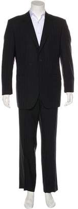 Dolce & Gabbana Wool Striped Suit