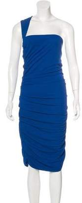 Yigal Azrouel One-Shoulder Sleeveless Dress