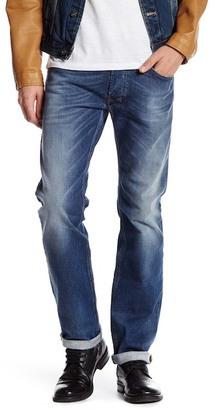 Diesel Safado Regular Slim-Straight Jean $198 thestylecure.com