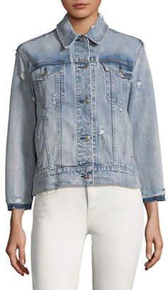 Rag & Bone Oversized Classic Denim Jacket