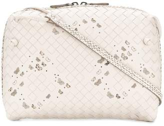 Bottega Veneta butterfly-print crossbody bag