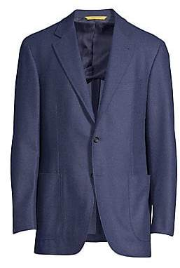 Canali Men's Classic-Fit Wool Blazer